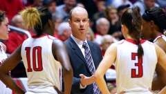 NCAA Women's Basketball: Ball State 96 vs Northern Illinois 101, Worthen Arena, Muncie IN, January 28, 2017