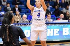 NCAA Womens Basketball CCSU 63 vs. LIU Brooklyn 57