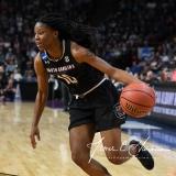 NCAA Women's Basketball Regional Finals - #1 UConn 94 vs. #2 South Carolina 65 (102)
