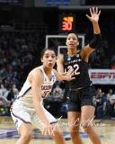 NCAA Women's Basketball Regional Finals - #1 UConn 94 vs. #2 South Carolina 65 (105)