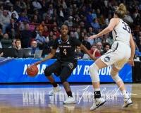 NCAA Women's Basketball Regional Finals - #1 UConn 94 vs. #2 South Carolina 65 (107)