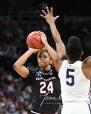 NCAA Women's Basketball Regional Finals - #1 UConn 94 vs. #2 South Carolina 65 (110)