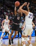 NCAA Women's Basketball Regional Finals - #1 UConn 94 vs. #2 South Carolina 65 (112)