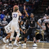 NCAA Women's Basketball Regional Finals - #1 UConn 94 vs. #2 South Carolina 65 (116)