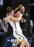 NCAA Women's Basketball Regional Finals - #1 UConn 94 vs. #2 South Carolina 65 (118)