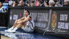 NCAA Women's Basketball Regional Finals - #1 UConn 94 vs. #2 South Carolina 65 (121)