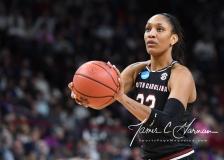 NCAA Women's Basketball Regional Finals - #1 UConn 94 vs. #2 South Carolina 65 (122)