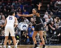 NCAA Women's Basketball Regional Finals - #1 UConn 94 vs. #2 South Carolina 65 (128)