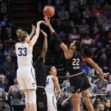 NCAA Women's Basketball Regional Finals - #1 UConn 94 vs. #2 South Carolina 65 (129)