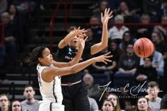 NCAA Women's Basketball Regional Finals - #1 UConn 94 vs. #2 South Carolina 65 (130)