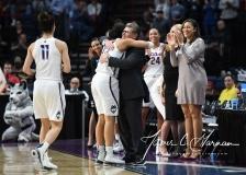 NCAA Women's Basketball Regional Finals - #1 UConn 94 vs. #2 South Carolina 65 (133)