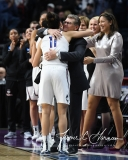 NCAA Women's Basketball Regional Finals - #1 UConn 94 vs. #2 South Carolina 65 (134)