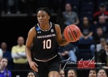 NCAA Women's Basketball Regional Finals - #1 UConn 94 vs. #2 South Carolina 65 (135)