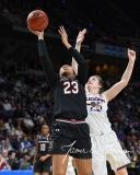 NCAA Women's Basketball Regional Finals - #1 UConn 94 vs. #2 South Carolina 65 (136)