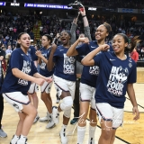 NCAA Women's Basketball Regional Finals - #1 UConn 94 vs. #2 South Carolina 65 (142)