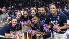 NCAA Women's Basketball Regional Finals - #1 UConn 94 vs. #2 South Carolina 65 (145)