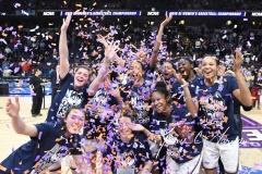 NCAA Women's Basketball Regional Finals - #1 UConn 94 vs. #2 South Carolina 65 (147)