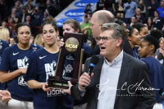 NCAA Women's Basketball Regional Finals - #1 UConn 94 vs. #2 South Carolina 65 (149)
