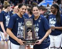 NCAA Women's Basketball Regional Finals - #1 UConn 94 vs. #2 South Carolina 65 (150)