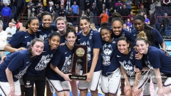 NCAA Women's Basketball Regional Finals - #1 UConn 94 vs. #2 South Carolina 65 (153)