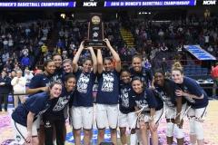 NCAA Women's Basketball Regional Finals - #1 UConn 94 vs. #2 South Carolina 65 (154)