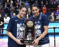 NCAA Women's Basketball Regional Finals - #1 UConn 94 vs. #2 South Carolina 65 (155)