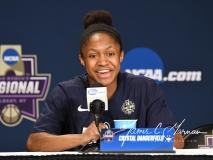 NCAA Women's Basketball Regional Finals - #1 UConn 94 vs. #2 South Carolina 65 (165)