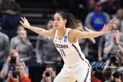 NCAA Women's Basketball Regional Finals - #1 UConn 94 vs. #2 South Carolina 65 (32)