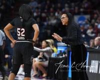 NCAA Women's Basketball Regional Finals - #1 UConn 94 vs. #2 South Carolina 65 (34)