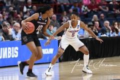NCAA Women's Basketball Regional Finals - #1 UConn 94 vs. #2 South Carolina 65 (35)