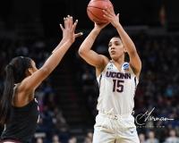 NCAA Women's Basketball Regional Finals - #1 UConn 94 vs. #2 South Carolina 65 (43)