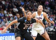 NCAA Women's Basketball Regional Finals - #1 UConn 94 vs. #2 South Carolina 65 (46)
