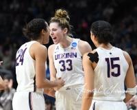NCAA Women's Basketball Regional Finals - #1 UConn 94 vs. #2 South Carolina 65 (49)