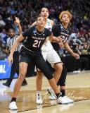 NCAA Women's Basketball Regional Finals - #1 UConn 94 vs. #2 South Carolina 65 (50)