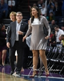 NCAA Women's Basketball Regional Finals - #1 UConn 94 vs. #2 South Carolina 65 (57)
