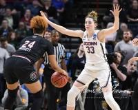 NCAA Women's Basketball Regional Finals - #1 UConn 94 vs. #2 South Carolina 65 (61)