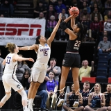 NCAA Women's Basketball Regional Finals - #1 UConn 94 vs. #2 South Carolina 65 (62)