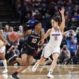 NCAA Women's Basketball Regional Finals - #1 UConn 94 vs. #2 South Carolina 65 (63)