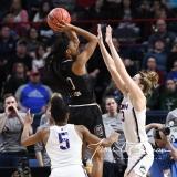 NCAA Women's Basketball Regional Finals - #1 UConn 94 vs. #2 South Carolina 65 (66)