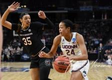 NCAA Women's Basketball Regional Finals - #1 UConn 94 vs. #2 South Carolina 65 (68)
