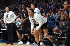 NCAA Women's Basketball Regional Finals - #1 UConn 94 vs. #2 South Carolina 65 (69)
