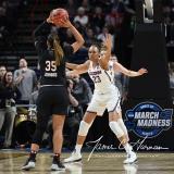 NCAA Women's Basketball Regional Finals - #1 UConn 94 vs. #2 South Carolina 65 (73)