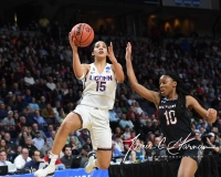 NCAA Women's Basketball Regional Finals - #1 UConn 94 vs. #2 South Carolina 65 (76)