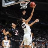 NCAA Women's Basketball Regional Finals - #1 UConn 94 vs. #2 South Carolina 65 (79)