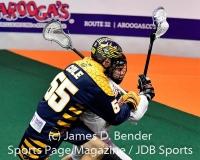 NLL Lacrosse: New England Black Wolves 13 vs. Georgia Swarm 11